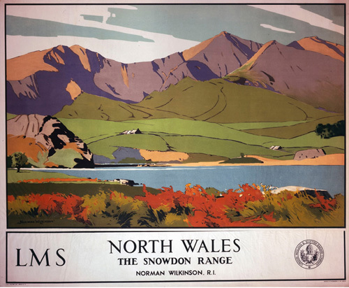 North Wales - Snowdon Range by National Railway Museum