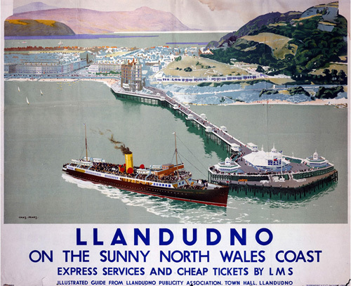 Llandudno - Pier by National Railway Museum
