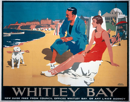 Whitley Bay - Dog by National Railway Museum