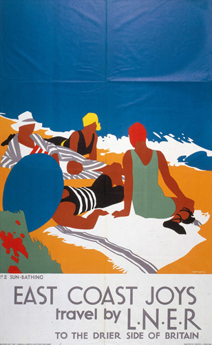 East Coast Joys - Sun Bathing by National Railway Museum