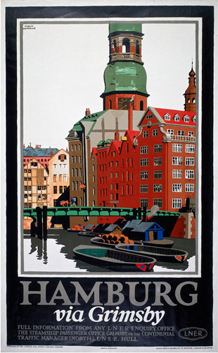 Hamburg via Grimsby III by National Railway Museum