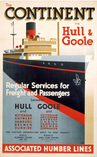 The Continent via Hull and Goole II by National Railway Museum