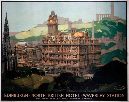 Edinburgh - North British Hotel by National Railway Museum