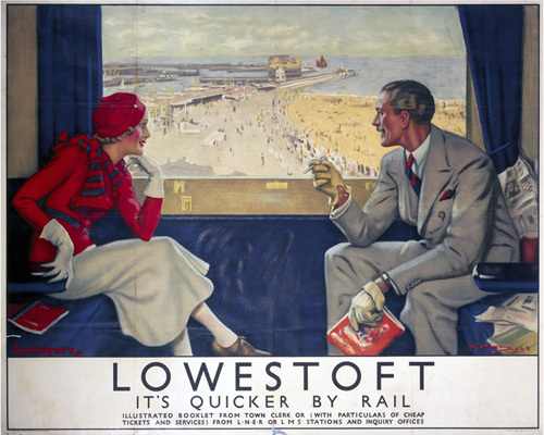 Lowestoft - It's Quicker by Rail by National Railway Museum
