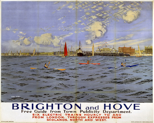 Brighton and Hove - Canoes by National Railway Museum