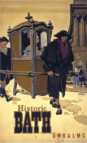Historic Bath - Sedan Chair by National Railway Museum