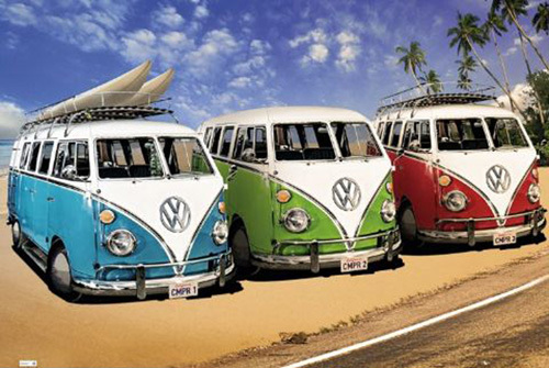 VW Californian Campers by Anonymous