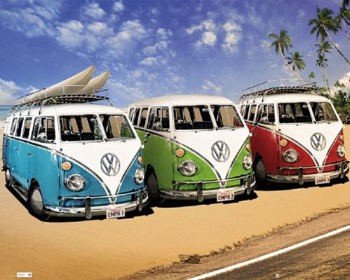 VW Californian Camper by Anonymous
