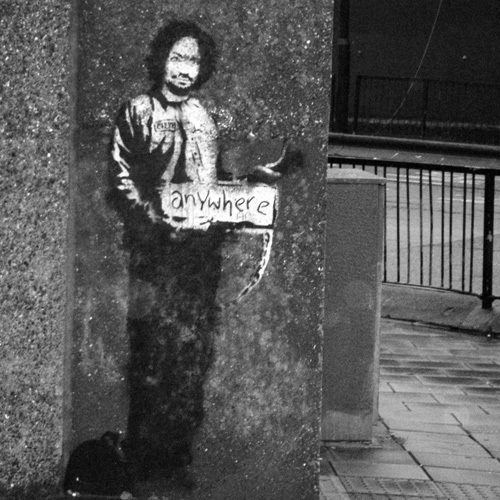 Banksy - Archway by Panorama London
