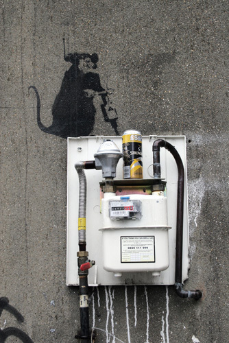 Banksy - Hoxton 1 by Panorama London