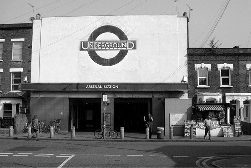 Arsenal Station by Panorama London