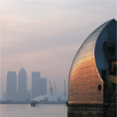 Thames Barrier by Panorama London