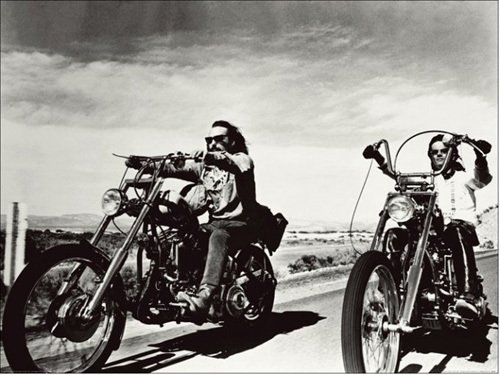 Dennis Hopper & Peter Fonda by Anonymous