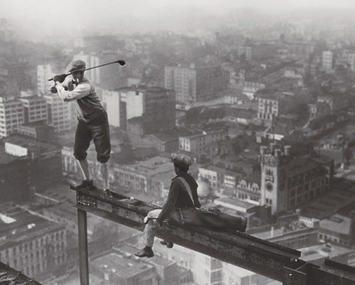 Tee Time by Charles C. Ebbets