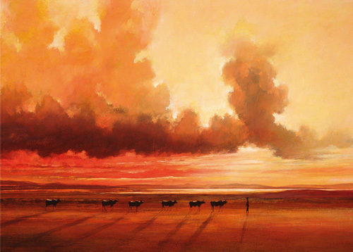 Turkana Shoreline by Jonathan Sanders