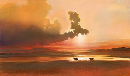 Fading Light by Jonathan Sanders