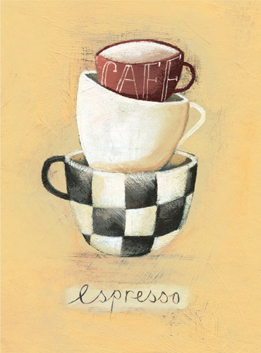 Cafe Espresso by Nicola Evans