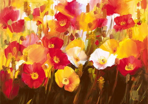 Rich Petals by Ann Neate