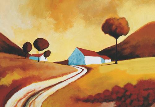 Summer Sunset by Derek Melville