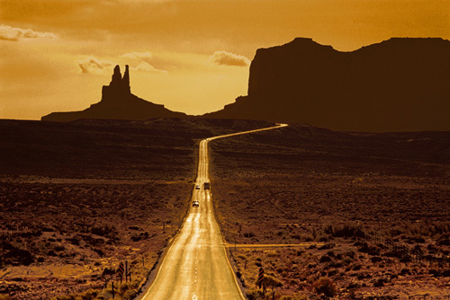 Monument Valley, Arizona by Michael Busselle