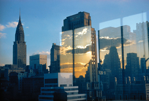 Skyline, New York, 1957 by Ernst Haas