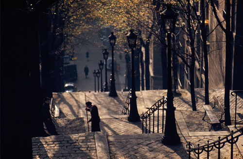 Montmartre, Paris by Ernst Haas