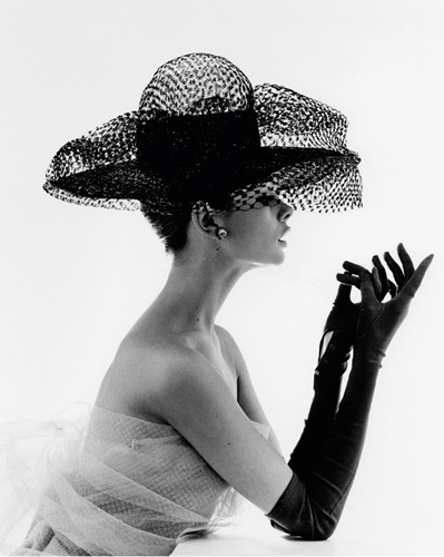 Madame Paulette Net Hat, 1963 by John French