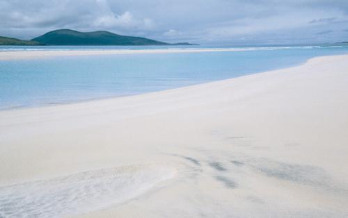 Luskentyre Bay, Isle Of Harris by Hugh Milsom