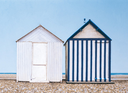 Two At Cayeux by Sylvia Antonsen