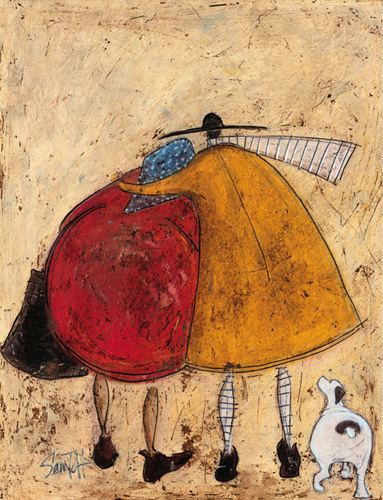 Hugs On The Way Home by Sam Toft