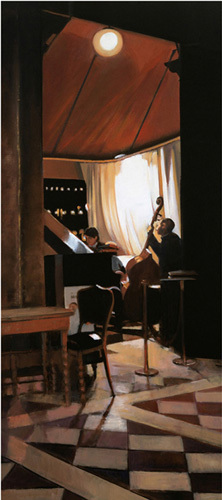 A Little Night Music; Florian, Venice by Alexandra Gardner
