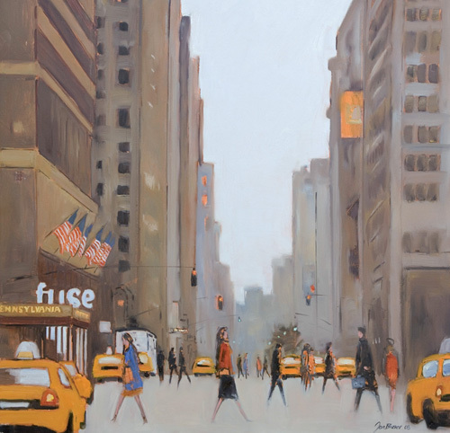7th Avenue - New York by Jon Barker