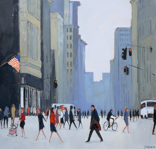 5th Avenue - New York by Jon Barker