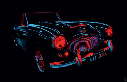 Auto Néon IV by Didier Mignot