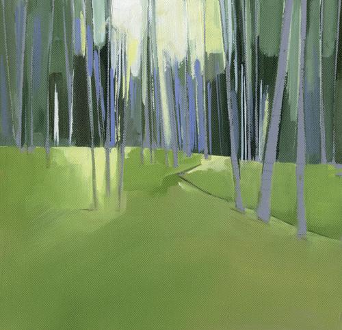 Italian Trees II by Charlotte Evans