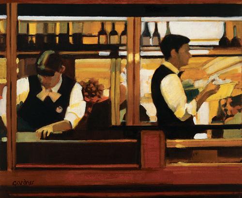 Valetta Café, A Study by Alexandra Gardner