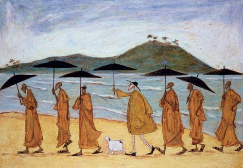 The Seven Umbrellas of Enlightenment by Sam Toft
