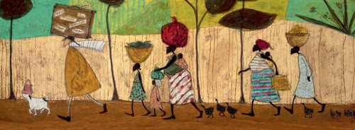Doris Helps Out on the Trip to Mzuzu by Sam Toft