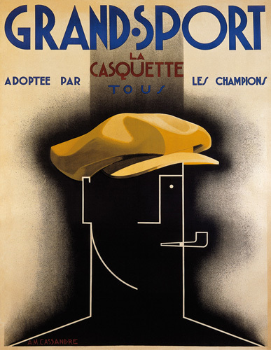 Grand Sport, 1925 by A.M. Cassandre