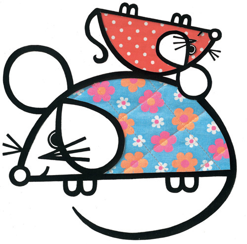 Happy Mice by Jane Foster