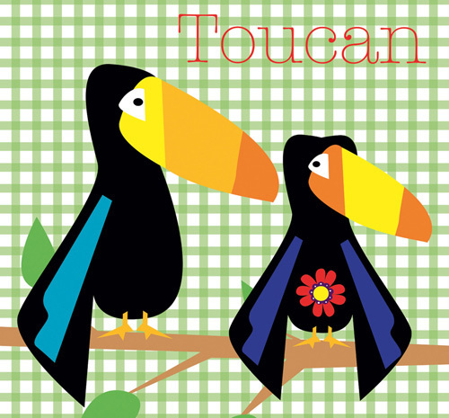 Rock a Toucan by Liza Lewis