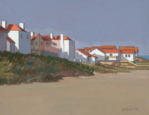 Beach Houses, Thorpness by John Sprakes