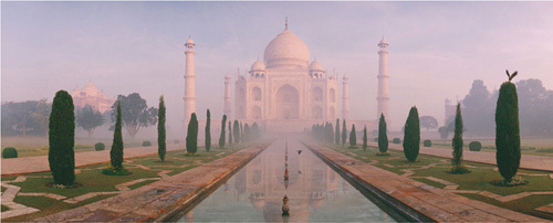 Taj Mahal And Eagle, Agra, India by Macduff Everton