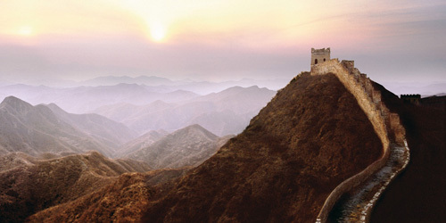 Great Wall Of China by Steve Bloom