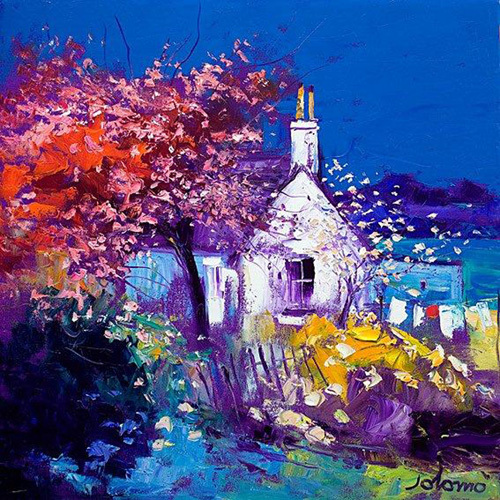 Spring at Crinan by John Lowrie Morrison