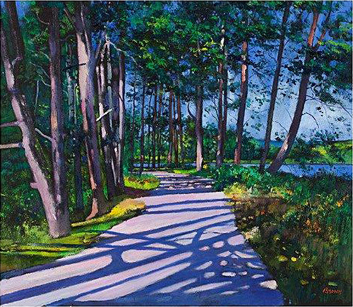 Avenue of Pines by Davy Brown
