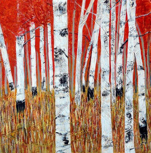Red and Gold by Sandra Moffat