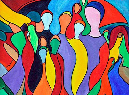 Creation of Life by Rina Bakis
