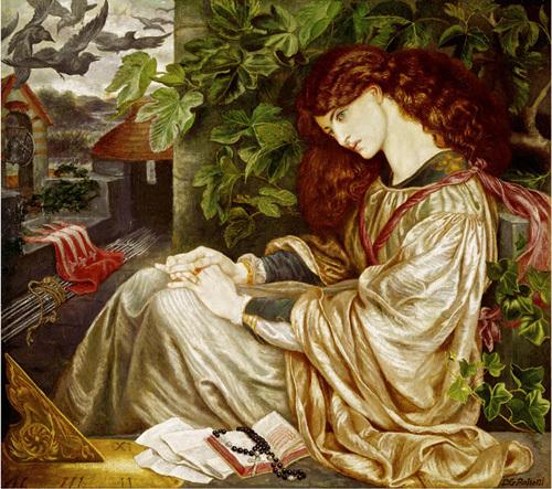 La Pia by Dante Gabriel Rossetti