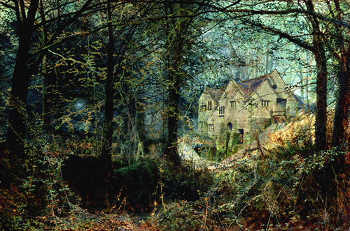 Autumn Glory, The Old Mill by John Atkinson Grimshaw